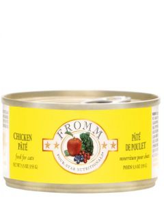 Fromm Family Foods Four Star Chicken Pate Canned Cat Food