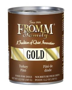 Fromm Family Foods Gold Turkey Pate Dog Food