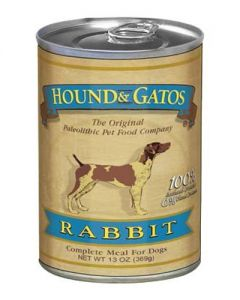 Hound & Gatos Rabbit Canned Dog Food