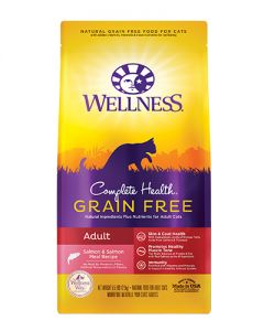 Wellness Complete Health Adult Salmon Dry Cat Food
