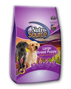NutriSource Chicken & Rice Formula Large Breed Puppy Food