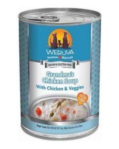 Weruva Grandma's Chicken Soup with Chicken & Veggies Canned Dog Food