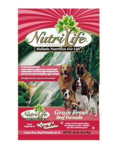 Nutri Life Grain Free Beef Dog Food