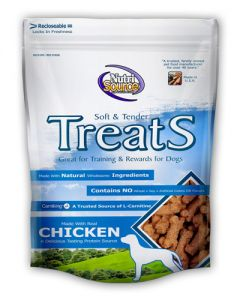 NutriSource Soft & Tender Chicken Formula Dog Treats