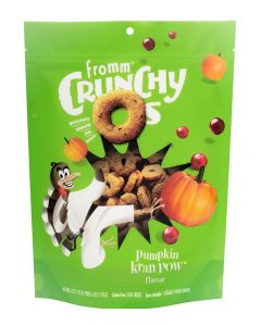 Fromm Family Foods Crunchy Os Pumpkin Kran POW Dog Treats