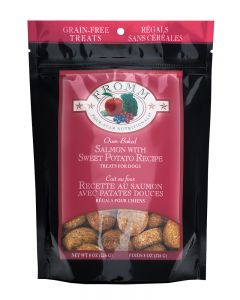 Fromm Family Foods Four Star Grain Free Salmon w/Sweet Potato Dog Treats