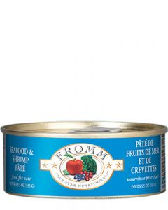 Fromm Family Foods - Four Star Seafood & Shrimp Pâté Cat Food - Canned Cat Food
