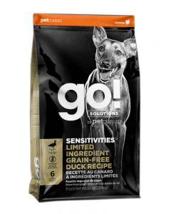 GO! Solutions Sensitivities LID Grain Free Duck Dog Food