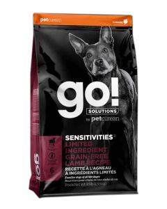 GO! SOLUTIONS SENSITIVITIES LIMITED INGREDIENT GRAIN FREE Lamb Dog Food