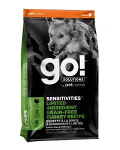 GO! SOLUTIONS SENSITIVITIES LIMITED INGREDIENT GRAIN FREE TURKEY  Dog Food