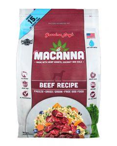 GRANDMA LUCY'S -Dog Macanna Beef Grain Free Recipe