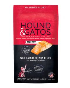 Hound & Gatos Grain-Free Wild Caught Salmon Recipe Dry Cat Food