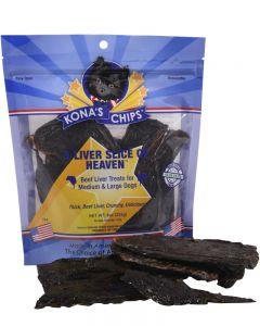 Kona's Chips A Liver Slice of Heaven Dog Treats