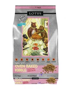 Lotus Small Bites Grain-Free Turkey Recipe Dry Dog Food