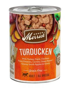 Merrick Grain Free Turducken in Gravy Canned Dog Food