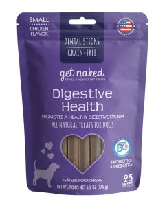 NPIC - Get Naked Grain Free Digestive Health Dental Chew Sticks for Dogs