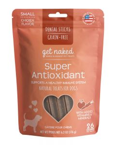 NPIC - Get Naked Grain Free Super Antioxidant - Dental Chew Sticks for Dogs