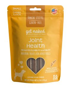 NPIC - Get Naked Grain Free Joint Health - Dental Chew Sticks for Dogs