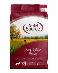 NutriSource Beef and Rice Recipe Dog Food