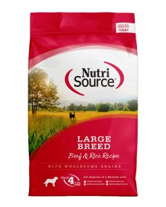 NutriSource Large Breed Beef and Rice Recipe Dog Food