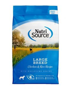 NutriSource Chicken & Rice Formula Large Breed Adult Dog Food