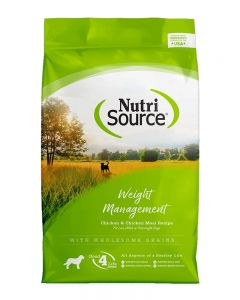 NutriSource Chicken & Rice Formula Weight Management Dog Food