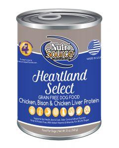 NutriSource Grain Free Heartland Select Canned Dog Food