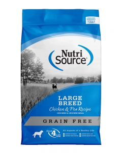 NutriSource - Grain Free Large Breed Chicken & Peas Formula - Dog Food