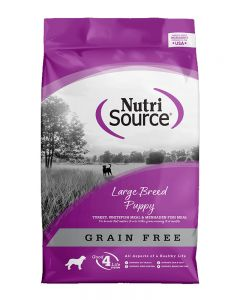 NutriSource Grain Free Large Breed Puppy Recipe Dog Food