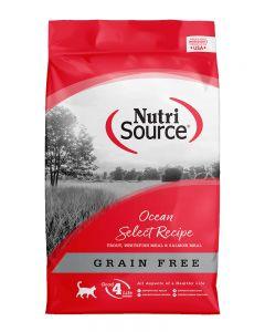 NutriSource Grain Free Ocean Select Recipe Cat Food