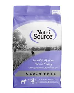 NutriSource Grain Free Small and Medium Breed Puppy Food