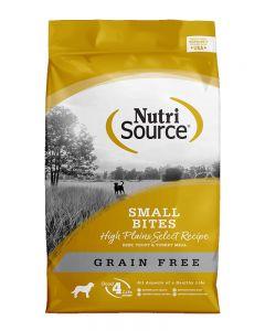 NutriSource Grain Free Small Bites High Plains Select Recipe Dog Food