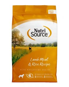 NutriSource Lamb Meal & Rice Formula Dog Food