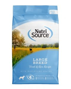 NutriSource Large Breed Trout and Rice Recipe Dog Food