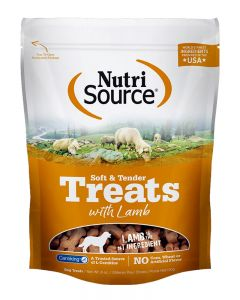 NutriSource Soft & Tender Lamb Formula Dog Treats