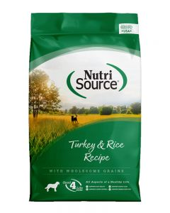 NutriSource Turkey and Rice Recipe Dog Food