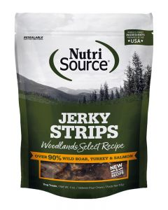 NutriSource Woodlands Select Jerky Strips