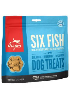 ORIJEN - Freeze Dried 6-Fish Dog Treat