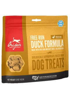 ORIJEN Freeze Dried Free Run Duck Dog Treat