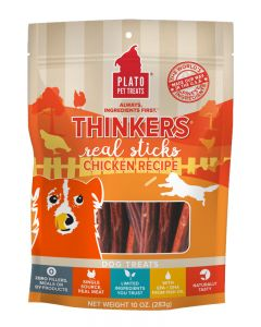 Plato Dog Thinkers Chicken Dog Treats