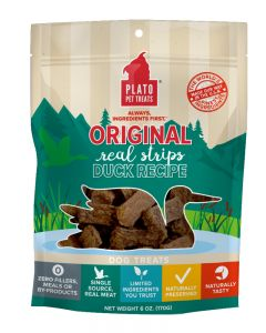 Plato Dog Treats Duck Strips