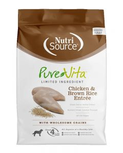 Pure Vita Chicken & Brown Rice Dry Dog Food