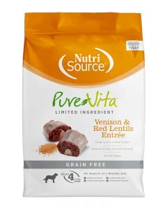 Pure Vita Grain Free Venison & Red Lentils Dry Dog Food