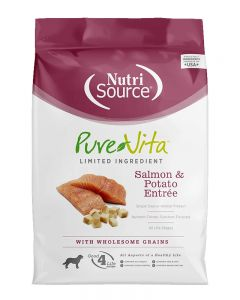 Pure Vita Salmon & Potato Dry Dog Food