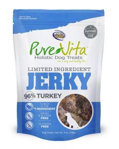 Pure Vita Turkey Jerky Dog Treats