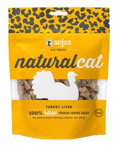 Sojos Natural Cat Turkey Liver Treats