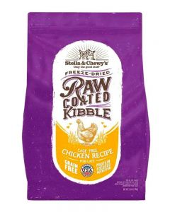 Stella & Chewy's Cage-Free Chicken Raw Coated Kibble Dry Cat Food