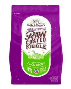 Stella & Chewy's Cage-Free Duck Raw Coated Kibble Dry Cat Food