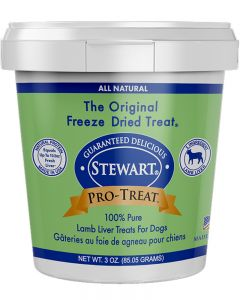 Stewart - Pro Treat Raw Freeze Dried Lamb Liver