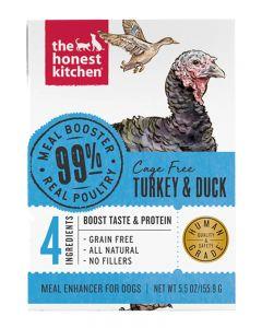 The Honest Kitchen 99% Turkey & Duck Meal Booster